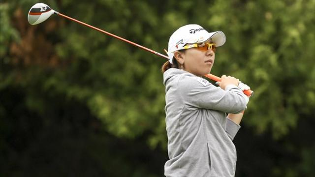Golf - Evian Championship: Japan's Miyazato leads heading into final round