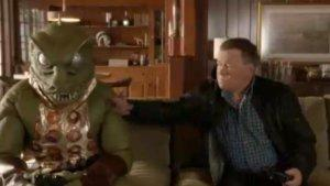 William Shatner Fights Lizard-Man in 'Star Trek' Game Ad (Video)
