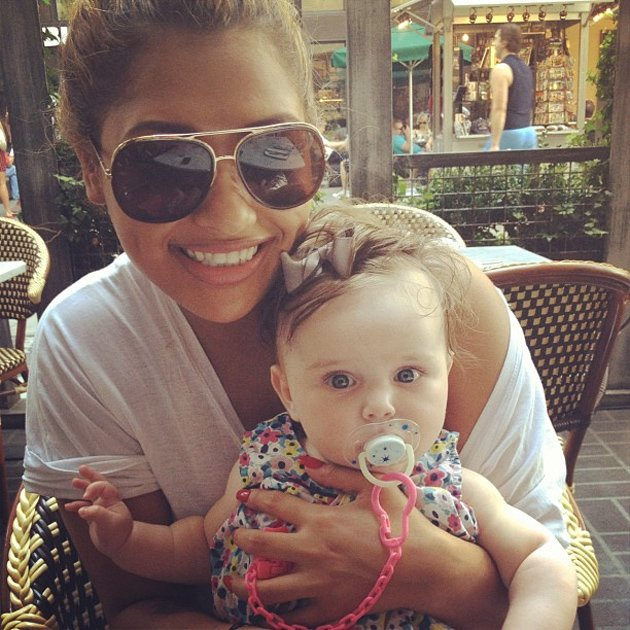 Vanessa White from The Saturdays with Aoife Belle