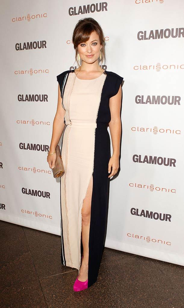 Olivia Wilde Glamour Reel Awards