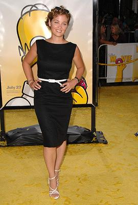 Erika Christensen at the Los Angeles premiere of 20th Century Fox's The Simpsons Movie