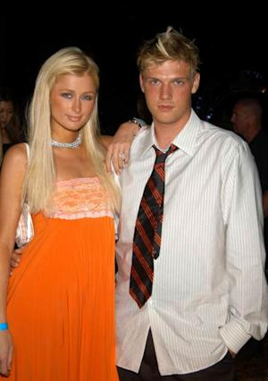Paris Hilton and Nick Carter seen in 2004 -- Getty Images