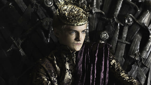 "Jack Gleeson as Joffrey Baratheon on ""Game of Thrones."""