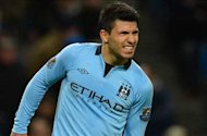 Manchester City striker Aguero dismisses talk of Real Madrid move