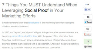5 Website Features to Get You Ahead of the Rest image Social Proof works wonders