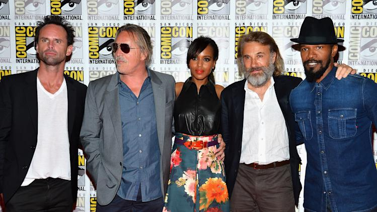 """DJango Unchained"" Press Line - Comic-Con International 2012"