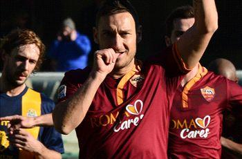 Totti proud of Roma's Champions League return