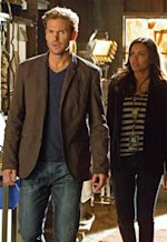 Matt Davis as Jeff and Jessica Lucas | Photo Credits: Jack Rowand/The CW