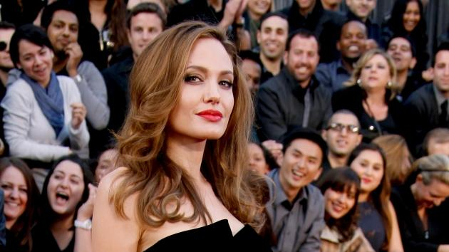 Angelina Jolie arrives at the 84th Annual Academy Awards held at Hollywood & Highland Centre in Hollywood, Calif. on February 26, 2012  -- Getty Premium