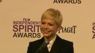 2012 Spirit Awards: Michelle Williams