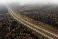 File illustration photo shows a highway in Canada. A Chinese immigrant who beheaded and cannibalized a Canadian bus passenger in front of horrified travelers four years ago spoke out for the first time, saying he believed his victim was an alien