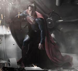 "Henry Cavill as Superman in ""Man Of Steel"" -- Warner Bros"