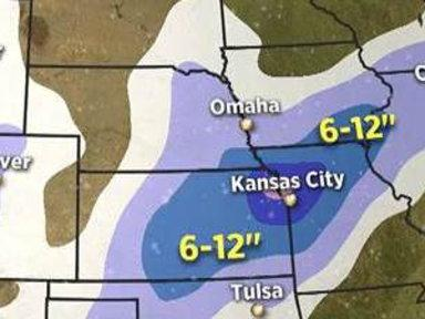 Kansas City Could Be Bull's-eye for Incoming Storm