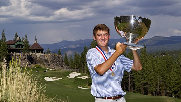 Scottie Scheffler won the U.S. Junior Amateur Championship after Davis Riley self reported a violation on the final hole — USGA