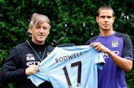 Mancini: Rodwell can be a star for Manchester City and England