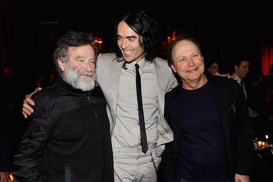 Arthur NY Premiere 2011 Robin Williams Russell Brand Billy Crystal