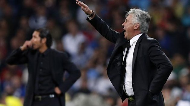 Carlo Ancelotti and Diego Simeone