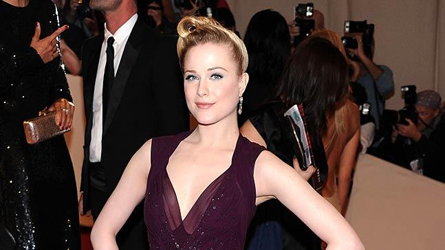Evan Rachel Wood TheMET Gala