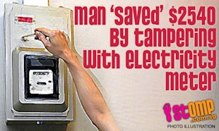 Lead Generation Tips – Things You Do Not Tell Prospects image man saved 2540 by tampering with electricity meter thumbnail
