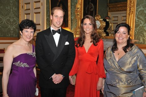 Prince William & Kate Middleton at a charity event.