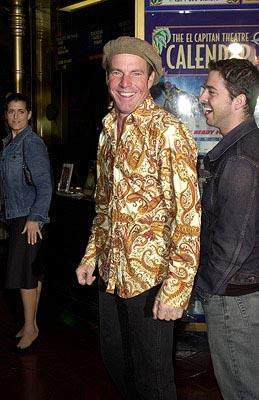 Dennis Quaid at the Hollywood premiere of The Count of Monte Cristo