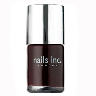 Autumn/Winter 2013 nail trends, burgundy