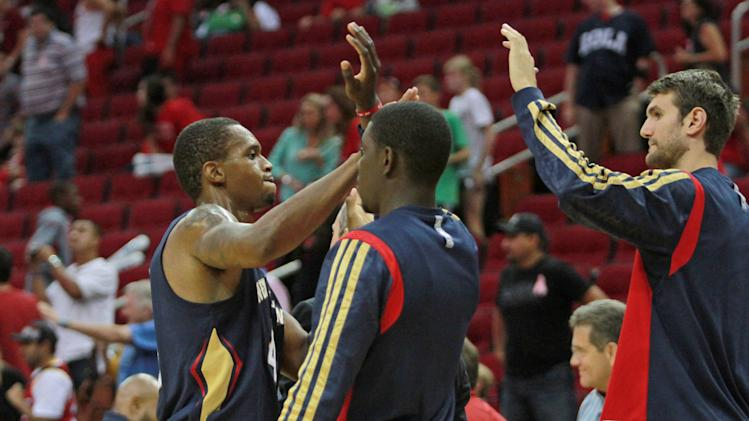 Pelicans Rockets Basketball