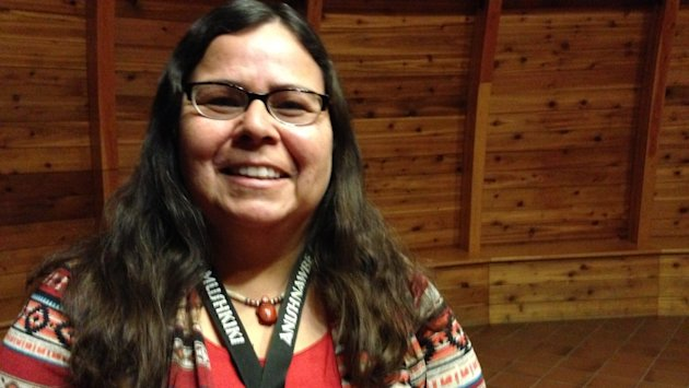 ​Teresa Trudeau is the traditional healing coordinator at Anishnawbe Mushkiki in Thunder Bay.