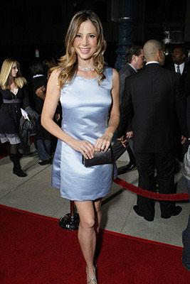 Mira Sorvino at the Los Angeles premiere of Focus Features' Reservation Road