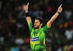Shahid Afridi became the third player in the history to score 10000 runs and take 400 wickets in international cricket