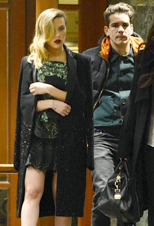 PICTURE: Scarlett Johansson Steps Out With New French Boyfriend Romain Dauriac