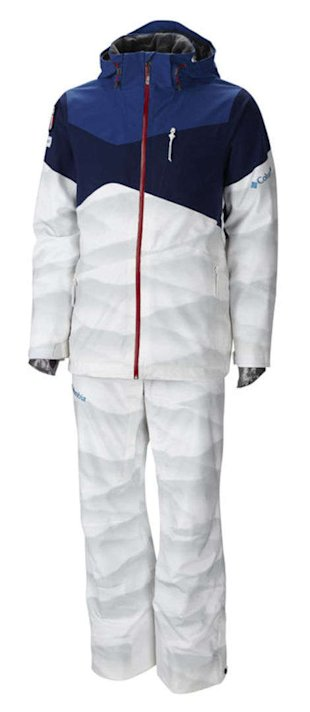 USA Moguls Uniform by Columbia Sportswear (Provided by Columbia Sportswear)