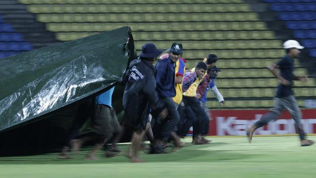 Cricket - Sri Lanka v New Zealand - first one-dayer abandoned