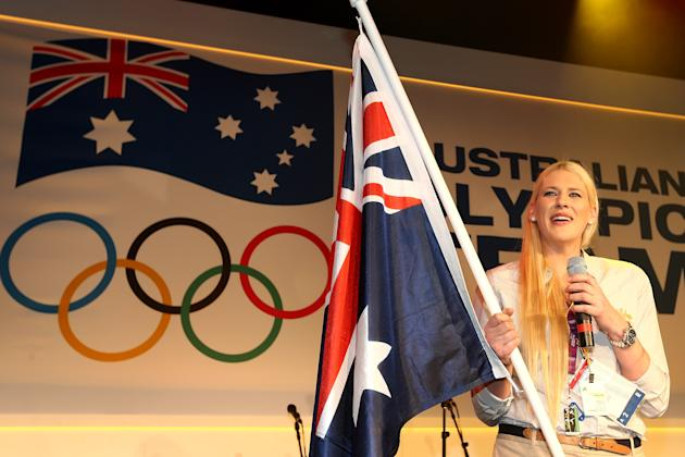 Australian Olympic Flag Bearer Announcement