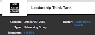 5 Awesome Leadership LinkedIn Groups You Probably Aren't Following image Leadership Thinktank