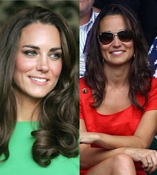 kate middleton pippa middleton brunette bombshell