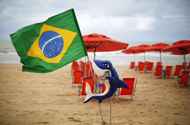 Recife steps up shark warnings for unwary World Cup fans