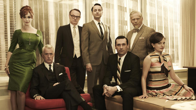 "AMC's ""Mad Men"" makes its long-awaited return March 25, but we couldn't wait that long to get a look at our old friends at Sterling Cooper Draper Pryce. Click through to see all-new pics of the ""Mad Men"" cast."