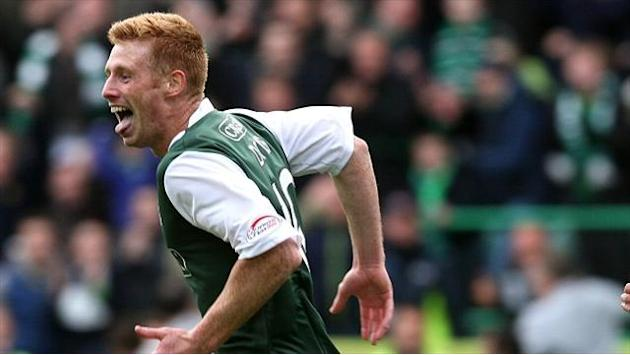 Scottish Premier League - Doyle brace helps Hibs to victory