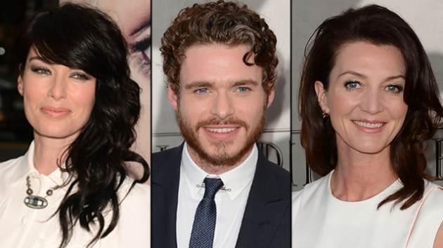 Lena Headey, Richard Madden and Michelle Fairley -- Getty Images