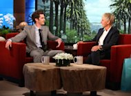 Andrew Garfield appears on 'The Ellen DeGeneres Show' on April 3, 2012 -- Michael Rozman/ Warner Bros