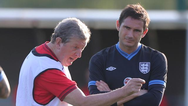 World Cup - Lampard praises Hodgson communication amid Rio fallout
