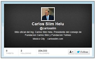 How The Fourth Richest Person On The Planet Goofed At Twitter image Carlos Slim Helu Twitter 06 13