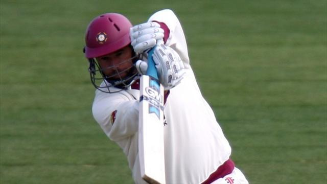 Cricket - Hall ton boosts Northants