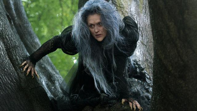 First Look! Meryl Scares In 'Into the Woods'