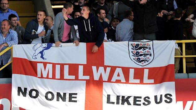 millwall, no one likes us