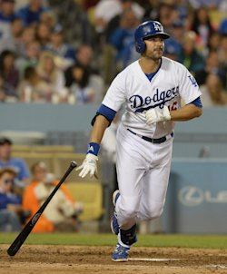Andre Ethier had just 380 plate appearances last season. (USAT)