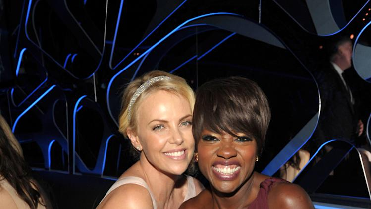 Charlize Theron and Viola Davis