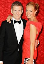 Patrick Kielty and Cat Deeley | Photo Credits: Jeff Vespa/WireImage.com