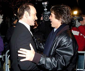 Premiere: Kevin Spacey and Tony Danza at the NY premiere of Lions Gate's Beyond the Sea - 12/8/2004